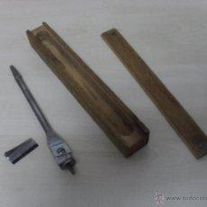 Antigüedades: BROCA PARA LA MADERA ONE LARGE RIDGWAY EXPANSIVE BIT MADE ENGLAND. Lote 50276786