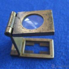Antigüedades: LUPA PLEGABLE DE PRECISIÓN DE 1880. Lote 50332797