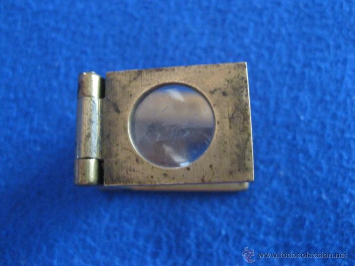 Antigüedades: Lupa plegable de precisión de 1880 - Foto 2 - 229043335
