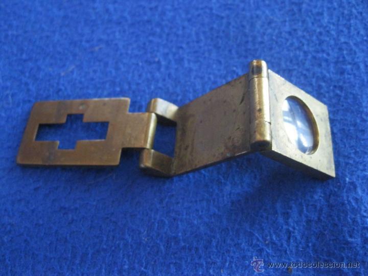 Antigüedades: Lupa plegable de precisión de 1880 - Foto 3 - 229043335