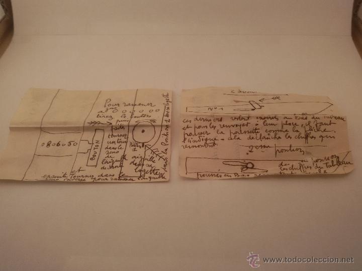 Antigüedades: ANTIGUA CALCULADORA SUMADORA MARCA COMPTATOR ALEMANA - Foto 11 - 50335254