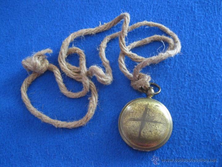Antigüedades: Antigua brújula de bolsillo americana de mediados del siglo XX. - Foto 4 - 50350273