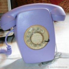 Teléfonos: RETRO VINTAGE TELEFONO HERALDO ESPAÑOL, CITESA MALAGA, CTNE REVISADO FUNCIONANDO DECORADO VER MAS. Lote 50350880