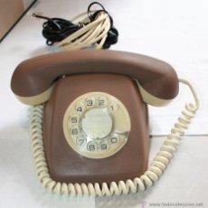 Teléfonos: RETRO VINTAGE TELEFONO HERALDO ESPAÑOL, CITESA MALAGA, CTNE REVISADO FUNCIONANDO DECORADO VER MAS. Lote 50350905