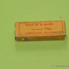 Antigüedades: PASTA PARA SUAVIZAR NAVAJAS DE AFEITAR , FABRICACION ESPAÑOLA . AÑOS 50/60 VER ESTADO .. Lote 50373138