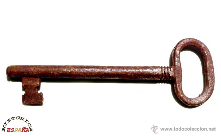 LLAVE DE FORJA MUY BUEN ESTADO DE CONSERVACIÓN 15,5 CM (Antigüedades - Técnicas - Cerrajería y Forja - Llaves Antiguas)