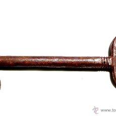Antigüedades: LLAVE DE FORJA MUY BUEN ESTADO DE CONSERVACIÓN 15,5 CM. Lote 50395241