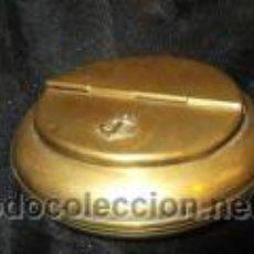 Antigüedades: ANTIGUO CENICERO MARINERO NAUTICO LATON ANCLA. Lote 50403477