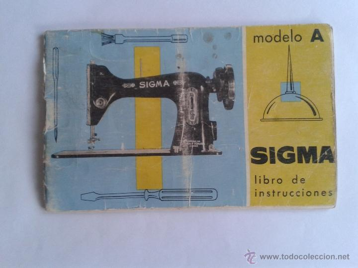 Libro de instrucciones maquina de coser sigma m - Vendido