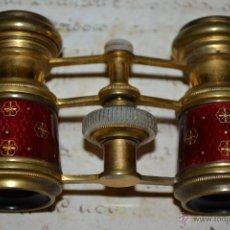 Antigüedades: PRECIOSOS PRISMATICOS DE ESMALTE Y NACAR,CARPENTIER,PARIS,S. XIX. Lote 50429743