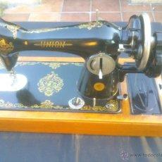 Antigüedades: ANTIGUA MAQUINA DE COSER UNION.USSR. Lote 64590193
