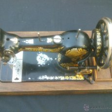 Antigüedades: ANTIGUA MAQUINA DE COSER.JONES FAMILY CS.MADE ENGLISH. Lote 50449034