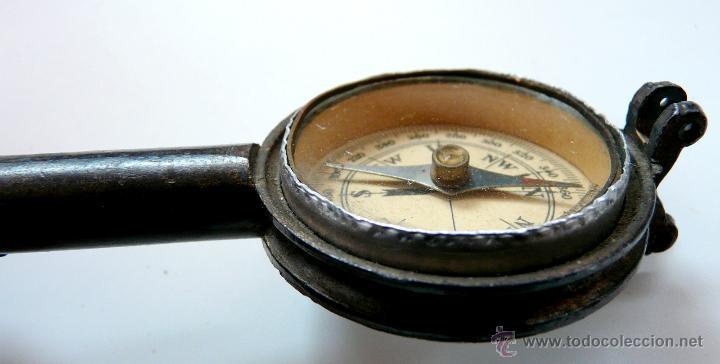 Antigüedades: MUY ANTIGUA BRUJULA PROBABLEMENTE SIGLO XIX - Foto 4 - 50457318