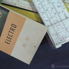Antigüedades: REGLA DE CALCULO ARISTO ELEKTRO 815. Lote 50471602