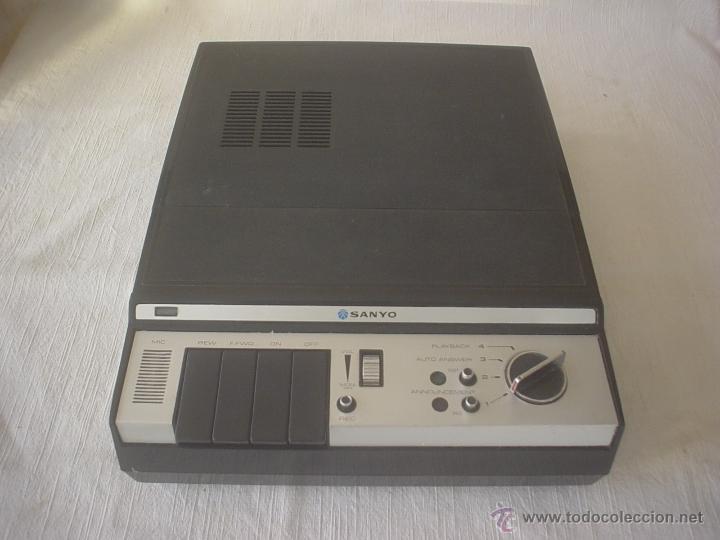 CONTESTADOR AUTOMÁTICO SANYO M-139D4 (Antigüedades - Técnicas - Teléfonos Antiguos)