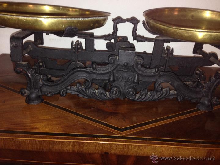 BONITA BALANZA (Antigüedades - Técnicas - Medidas de Peso - Balanzas Antiguas)