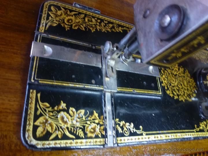 Antigüedades: Antigua máquina de coser Köhler - Foto 3 - 50520578
