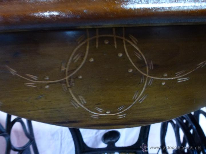 Antigüedades: Antigua máquina de coser Köhler - Foto 4 - 50520578
