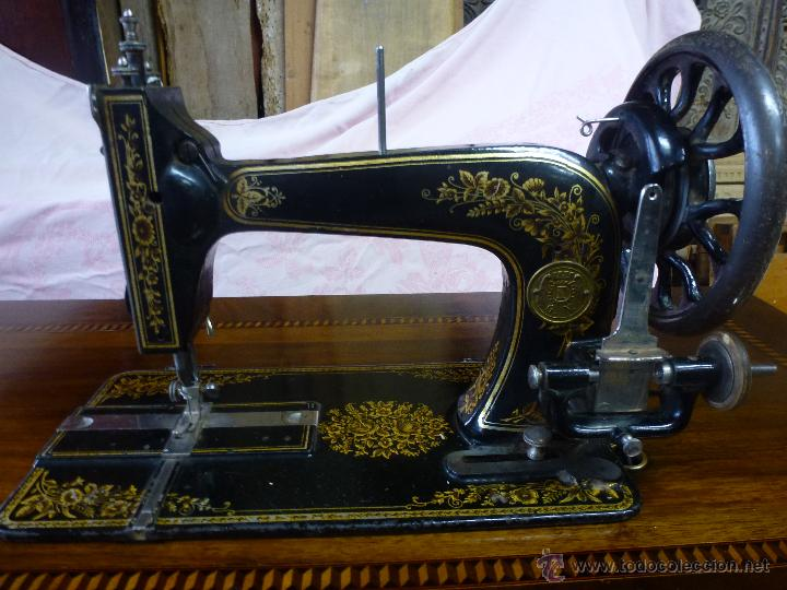 Antigüedades: Antigua máquina de coser Köhler - Foto 6 - 50520578