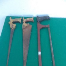 Antigüedades: 3 SERRUCHOS. Lote 50567864