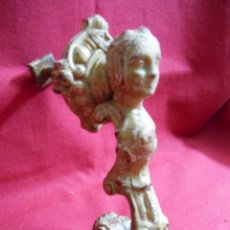Antigüedades: ANTIGUO LLAMADOR - ALDABA EN HIERRO - SIGLO XIX -. Lote 50571945