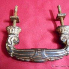 Antigüedades: ANTIGUO TIRADOR DE PUERTA EN HIERRO - SIGLO XIX -. Lote 50572053