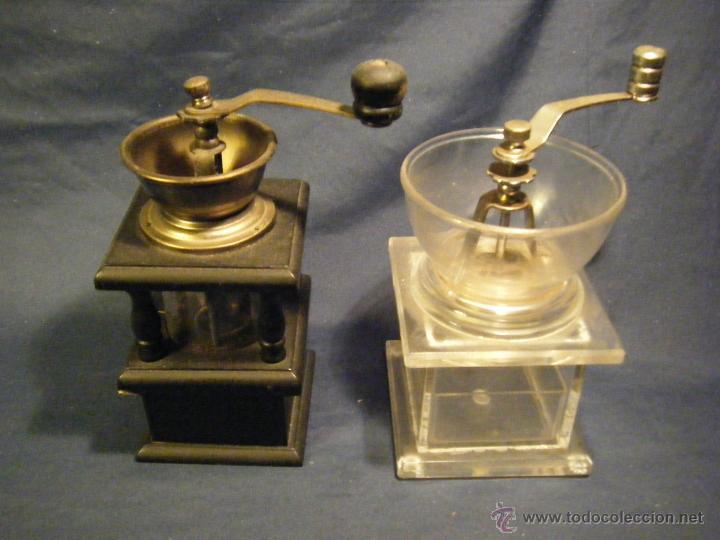 DOS BONITOS MOLINILLOS (Antigüedades - Técnicas - Molinillos de Café Antiguos)