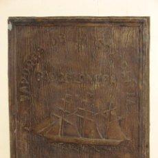 Antigüedades: CUADRO COMMEMORATIVO DEL VAPOR CRISTOBAL COLÓN. Lote 68697134