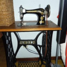 Antigüedades: MAQUINA DE COSER SINGER. Lote 50631418