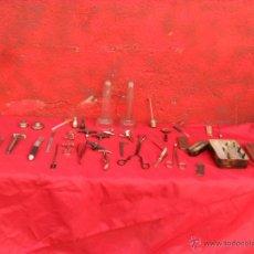 Antiquitäten - gran lote herramientas medicina,herramienta,cristal antigua,alguna nueva sin uso - 50631781