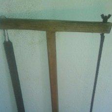Antigüedades: SIERRA DOBLE, ANTIGUA. Lote 50636070