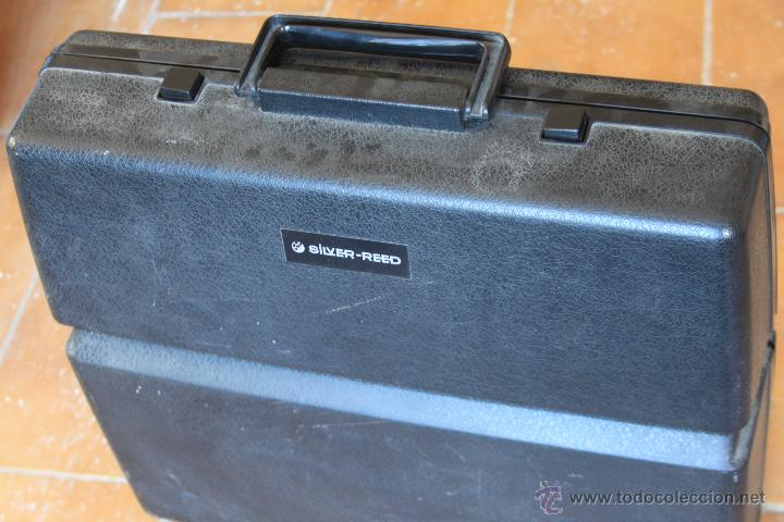 Antigüedades: Máquina de escribir antigua marca Silver Reed - Foto 5 - 50645630