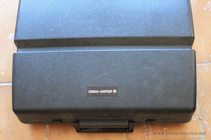 Antigüedades: Máquina de escribir antigua marca Silver Reed - Foto 6 - 50645630