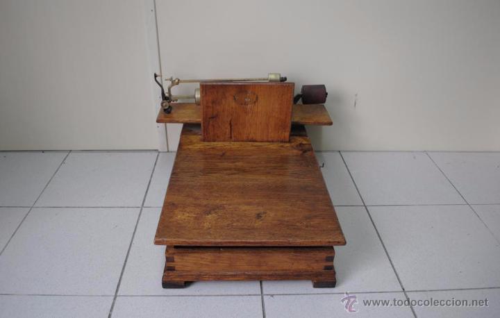BÁSCULA DE MADERA (Antigüedades - Técnicas - Medidas de Peso - Básculas Antiguas)