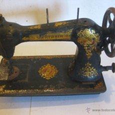 Antigüedades: MAQUINA DE COSER WERTHEIM. Lote 50688490