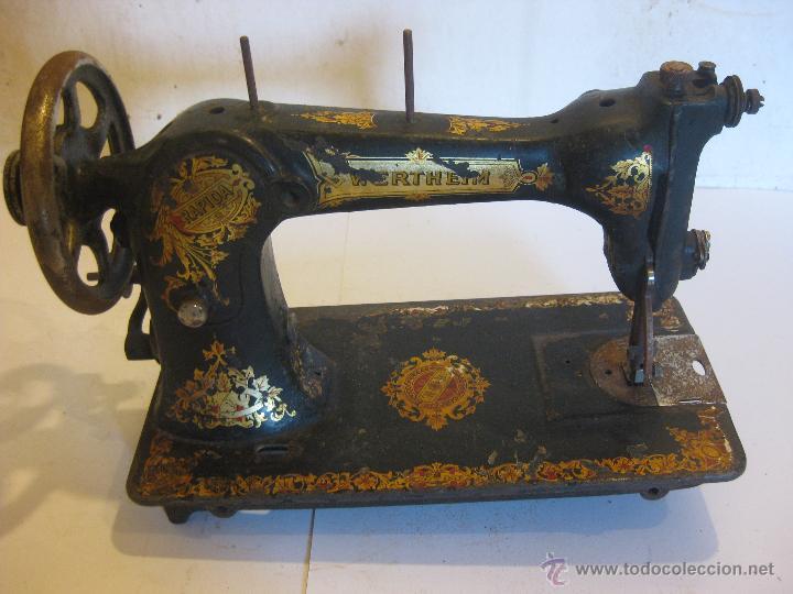 Antigüedades: Maquina de coser Wertheim - Foto 2 - 50688490