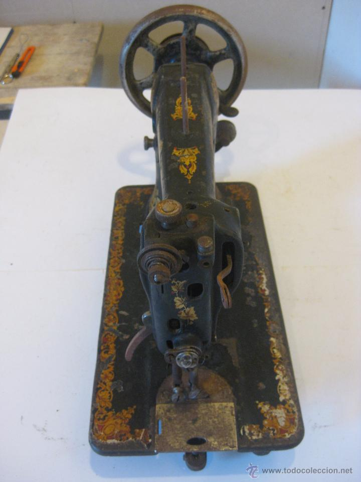 Antigüedades: Maquina de coser Wertheim - Foto 5 - 50688490