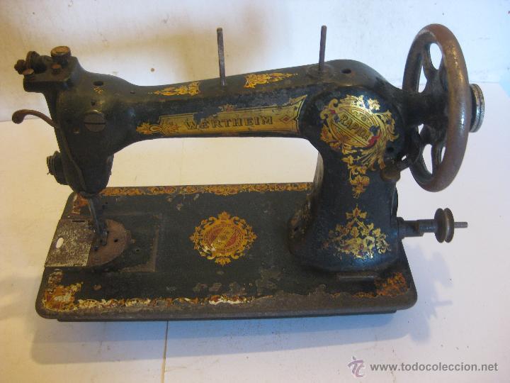 Antigüedades: Maquina de coser Wertheim - Foto 6 - 50688490