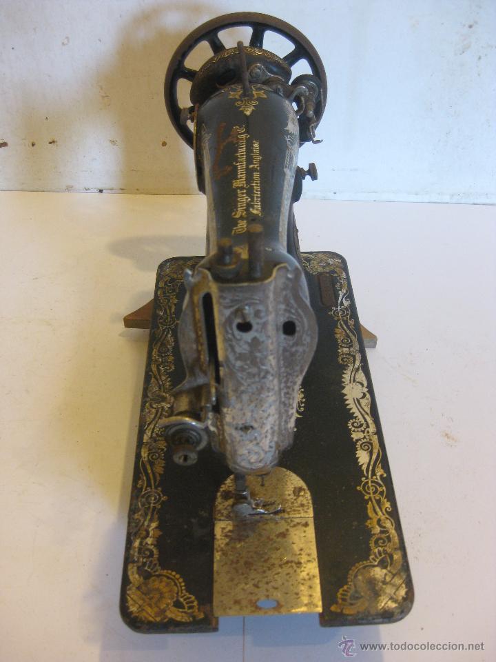 Antigüedades: Maquina de coser Singer - Foto 2 - 50688632