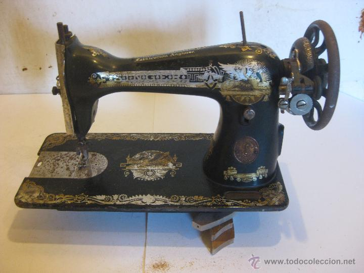 Antigüedades: Maquina de coser Singer - Foto 4 - 50688632