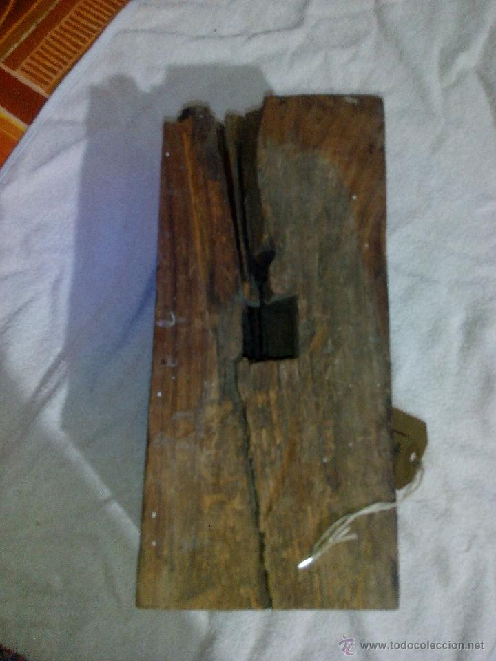 Antigüedades: Antiquisimo adorno para techo de madera tallada a mano,indú siglo xviii/xix.pIEZA UNICA - Foto 5 - 50706824