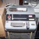 Antigüedades: TELEX O TELETIPO TECOSA SAGEM, CON MANUAL DE INSTRUCCIONES. Lote 50738859