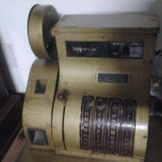 Antigüedades: CAJA REGISTRADORA 1930-1940 NATIONAL PESETAS. Lote 50743143