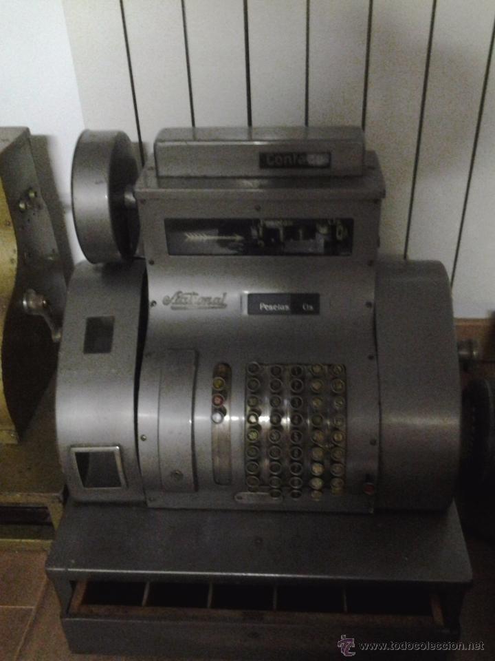 CAJA REGISTRADORA 1930'S-1940'S NATIONAL PESETAS (Antigüedades - Técnicas - Aparatos de Cálculo - Cajas Registradoras Antiguas)