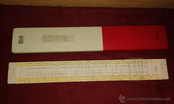 REGLA DE CALCULO ARISTO (Antigüedades - Técnicas - Aparatos de Cálculo - Reglas de Cálculo Antiguas)