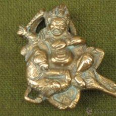 Antigüedades: CANDADO ANTIGUO DE COLECCION EN BRONCE.. Lote 50750961