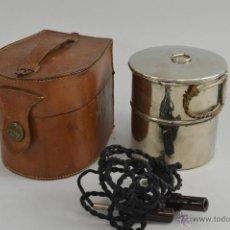 Antigüedades: HERVIDOR DE AGUA CON ESTUCHE. 1900. Lote 50756428