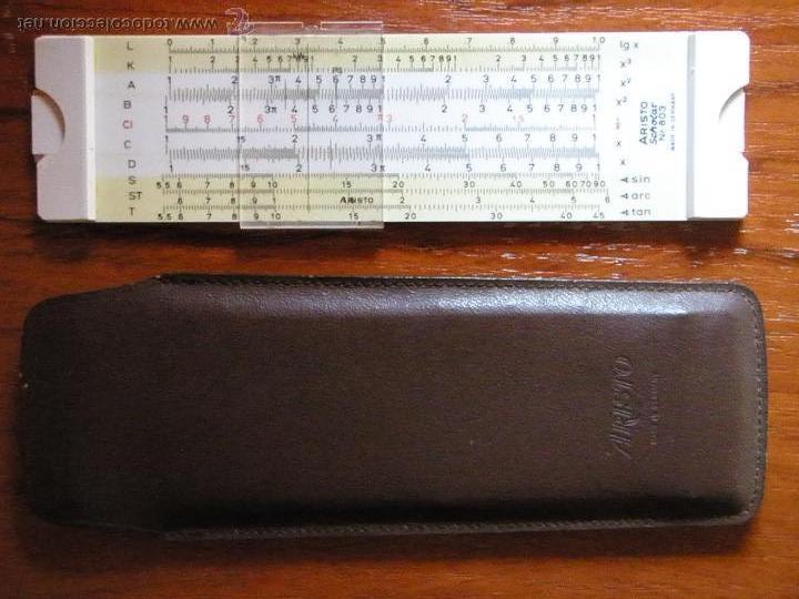 ANTIGUA REGLA DE CALCULO ARISTO (Antigüedades - Técnicas - Aparatos de Cálculo - Reglas de Cálculo Antiguas)