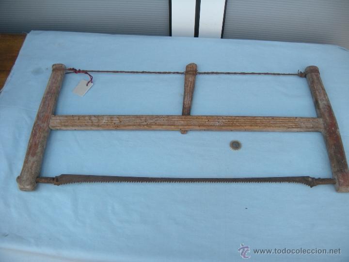 ANTIGUA SIERRA DE CARPINTERO SAN JOSÉ (Antigüedades - Técnicas - Herramientas Profesionales - Carpintería )