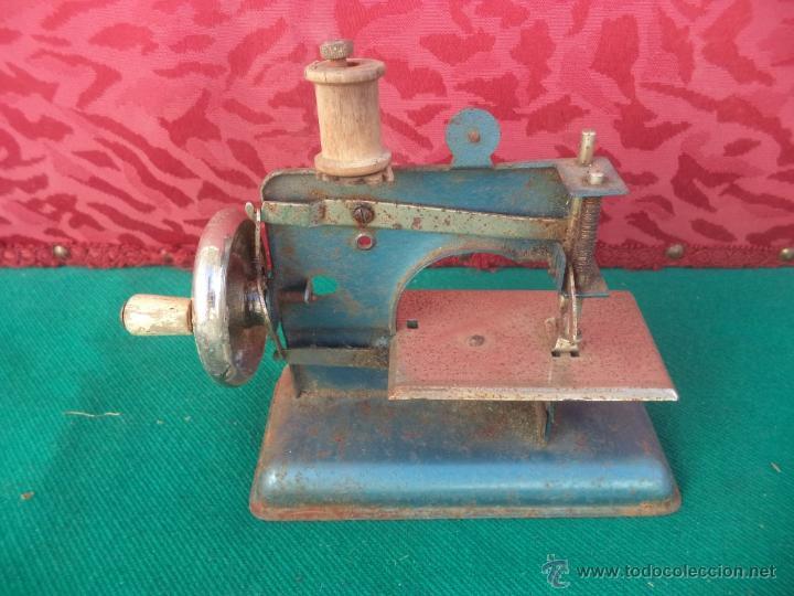 Antigüedades: mini maquina de coser - Foto 2 - 50885347